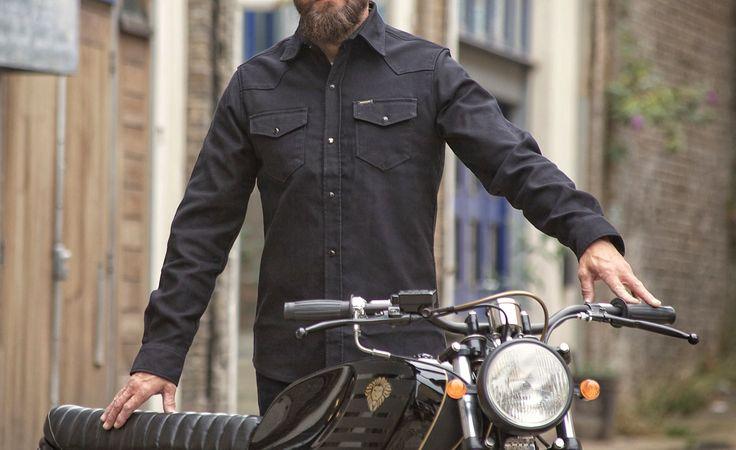 rokker black jack rider shirt kulture moto pinterest. Black Bedroom Furniture Sets. Home Design Ideas