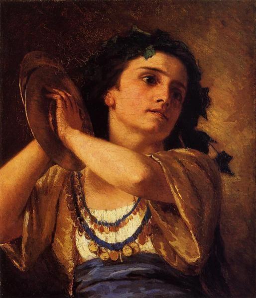 Bacchante,+1872+-+Mary+Cassatt
