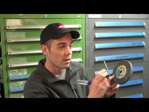 How to : Ring Test a Bench Grinder Wheel - YouTube