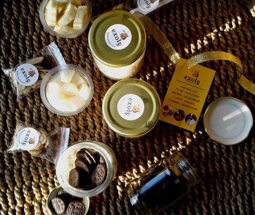 Varian Overnight Oatmeals  Varian Overnight Oatmeals  Overnight oatmeals dari Exoly kini ada beberapa varian yaitu pir pisang mangga oreo dan buah naga. Mana varian favoritmu?  Untuk informasi dan pemesanan silahkan jangan ragu-ragu untuk menghubungi Exoly.  Tagged: bali buah naga denpasar exoly exoly kitchen favorit mangga oreo overnight oatmeals overnight oats pir pisang varian        URL: http://bit.ly/2rgkSpv Managed by: IKAHANA https://rbw.ikahana.net/2pL8aPu