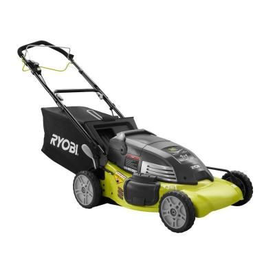 Ryobi Reconditioned 20 in. Single Speed Self-Propelled Cordless Electric Mower $229.00 #TopRevews