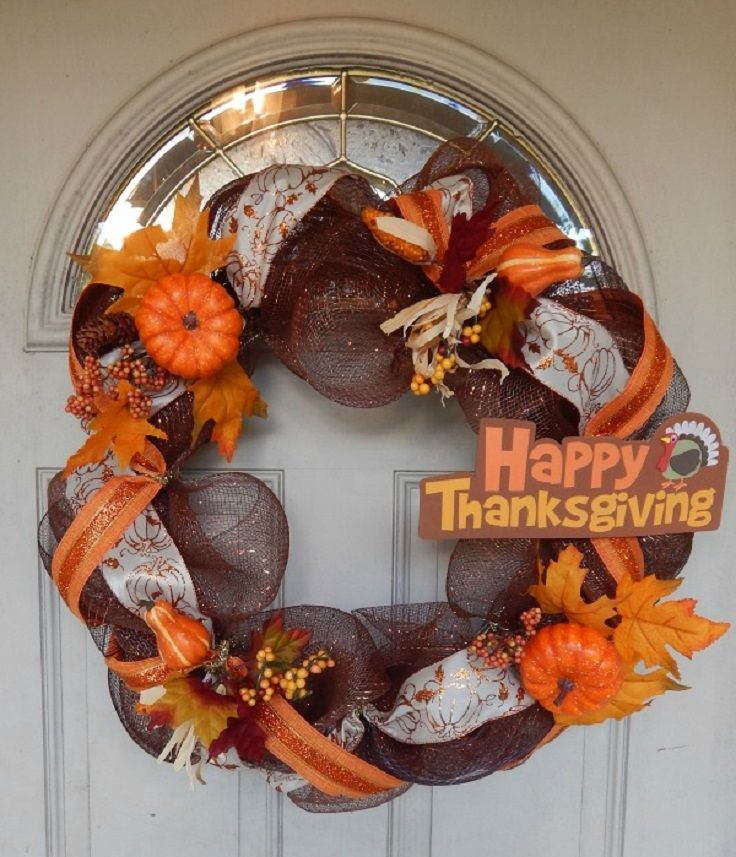 7 DIY Thanksgiving Wreaths