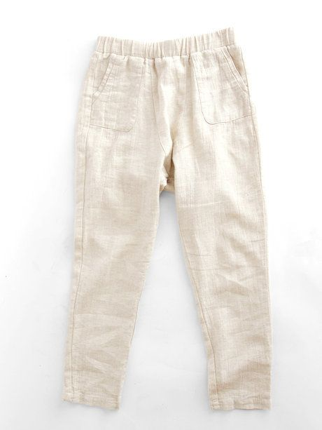 linen lounge pants from grain.