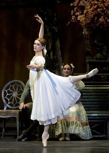 "Irina Dvorovenko (Tatiana) with American Ballet Theatre in ""Onegin"""