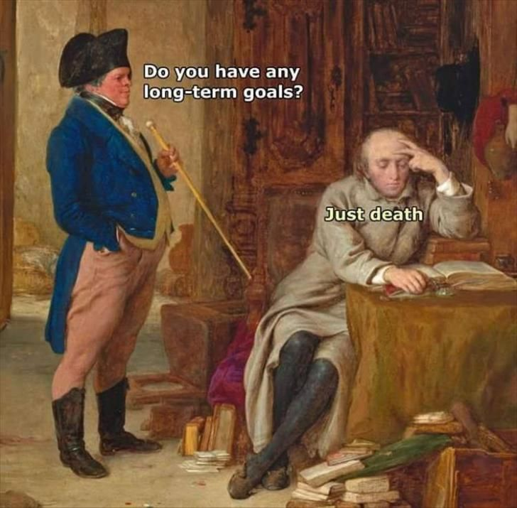 Do you have any long term goals?