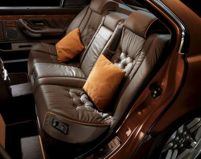 E38 BMW L7 Individual Karl Lagerfeld Edition would love to have my interior like this in gray/black