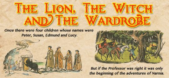 """the chronicles of narnia ⇾ first and last lines. ↳ text by c.s. lewis, illustrations by pauline baynes."""
