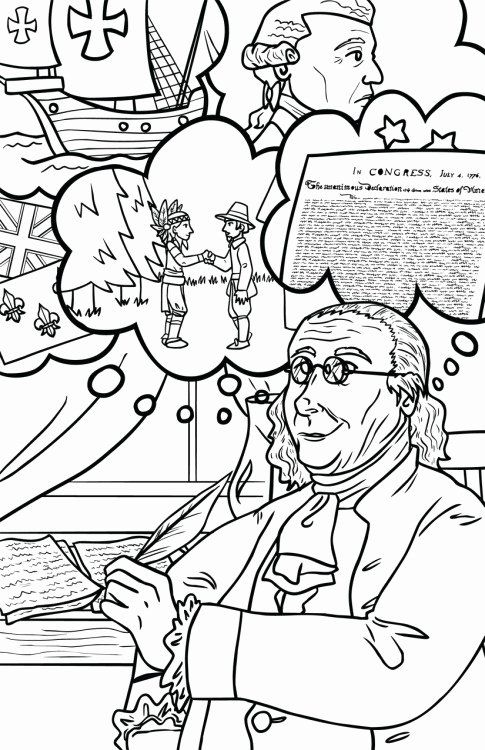 Benjamin Franklin Coloring Page Luxury While I M Posting Coloring
