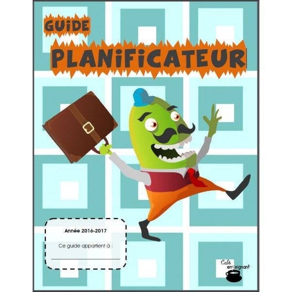 Guide planificateur 2016-2017 (5 périodes)