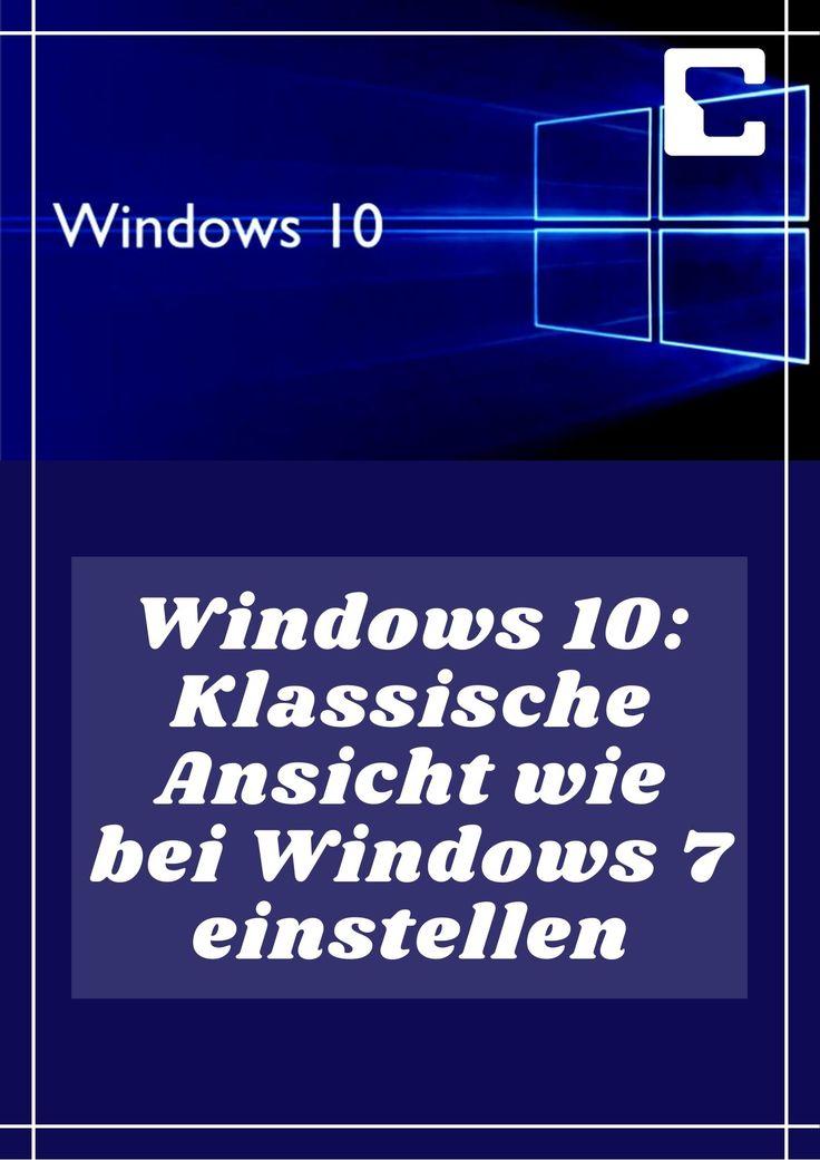 Windows 8 Klassische Ansicht
