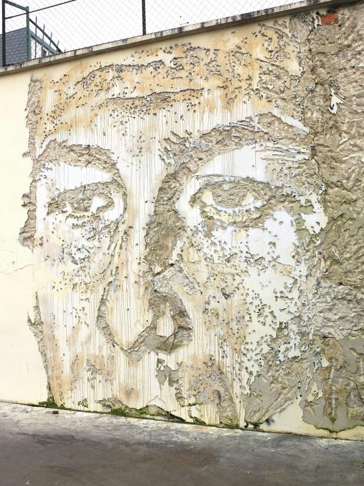 Paris 13 - rue du chateau des rentiers - street art - vhils