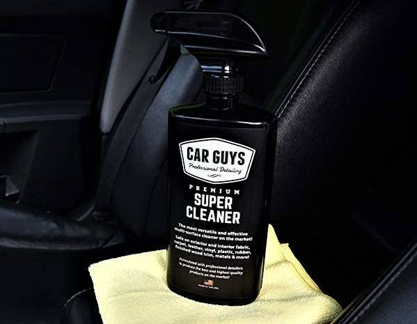 This Is Where The Superhero Of Car Cleaners Comes In Friends With Rides Let Me Introduce You To Carguys Super Cleaning Cleaning Spray Cleaning Car Upholstery