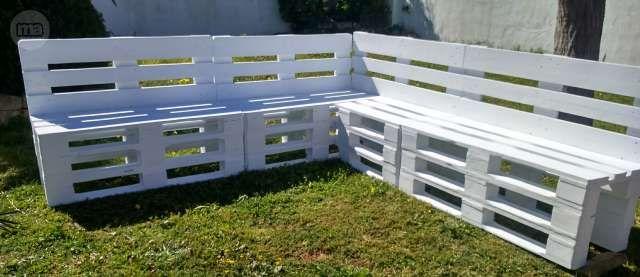 www.milanuncios.com otros-muebles bancos-de-madera-de-palets-186763379.htm