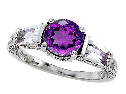 Original Star K(tm) Round 7mm Genuine Amethyst Engagement Ring LIFETIME WARRANTY Star K. $129.99. Certificate of Authenticity Included with this item. Star K. Designs are exclusive and protected by Copyright Laws. Free High End Jewerly Box and Gift Packaging. Free Lifetime Warranty exclusively offered by Finejewelers. Guaranteed Authentic from the Star K designer line