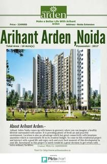 2/3 BHK flats for sale in Noida Arihant Arden Copy | Piktochart Infographic Editor