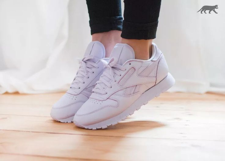 reebok classic leather white womens