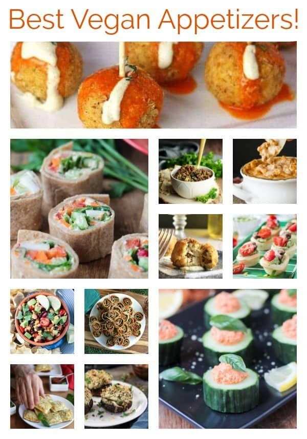 Vegan Appetizers for New Year's Eve (Or Any Fun Party!)
