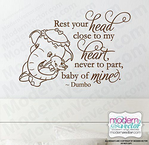 Disney Quotes Baby Girl: 17 Best Ideas About Dumbo Nursery On Pinterest