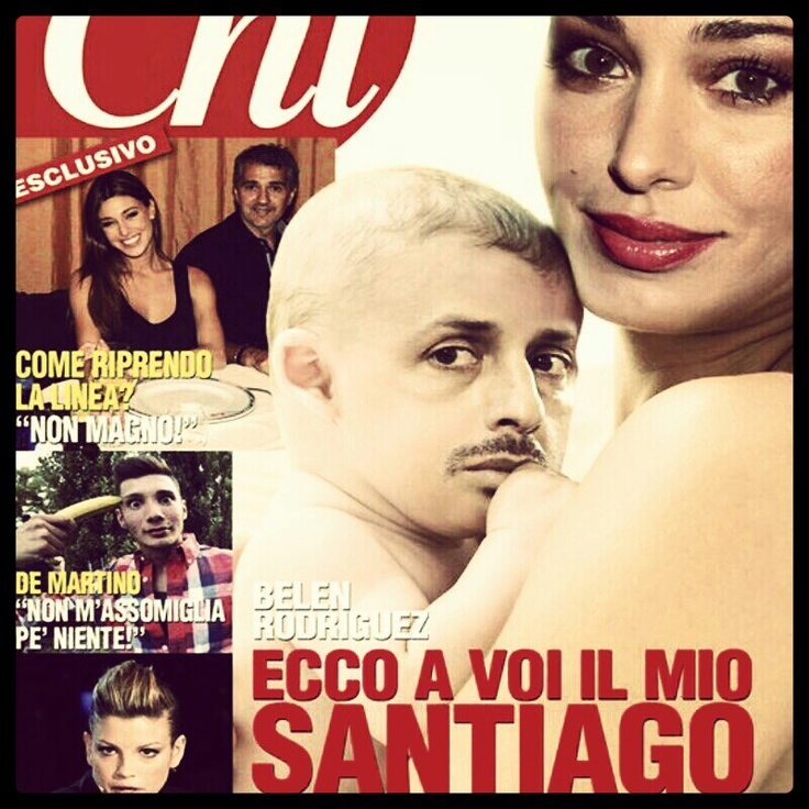 santiago: everything looks like his dad... Pahahahah #belen #gossip #news #divas