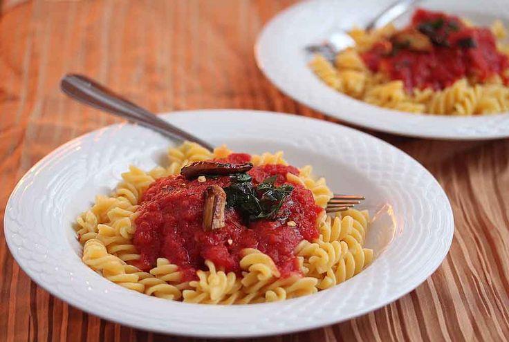 Penne all'Arrabbiata {Spicy Penne Pasta} Recipe - 50 Women Game ...