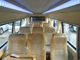Interior elf long 14 seater
