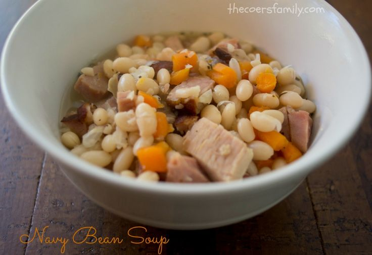 how to cook navy beans fast