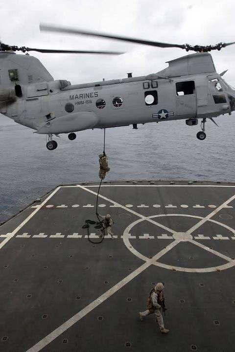USMC CH-46 Sea Knight