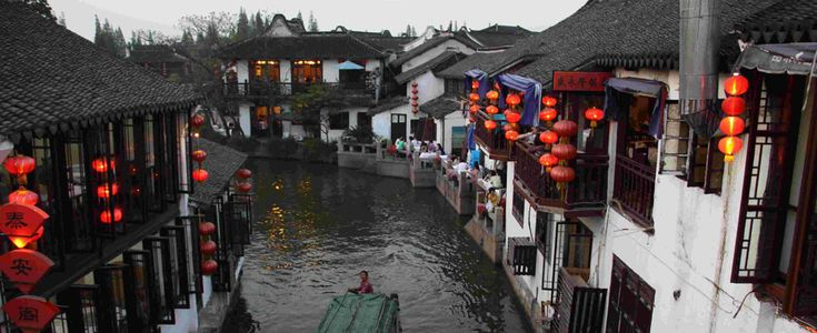 zhujiajiao water town - Google Search