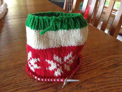 The Cabin Countess : My Basic Pattern for Knitting a Christmas Stocking