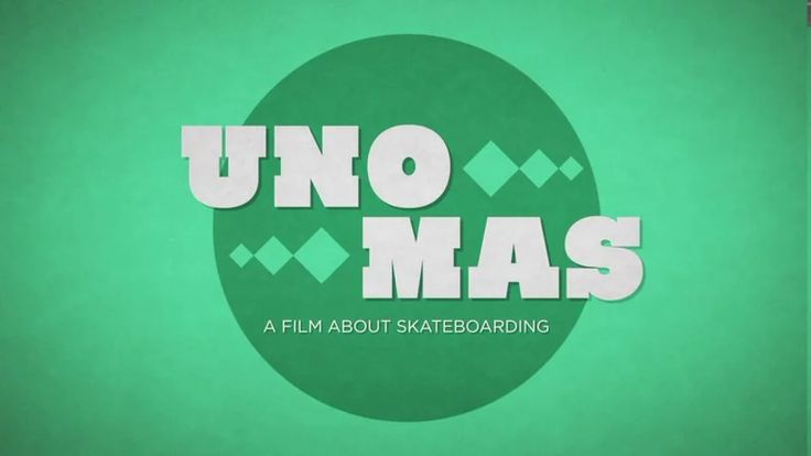 Uno Mas Title Sequence on Vimeo