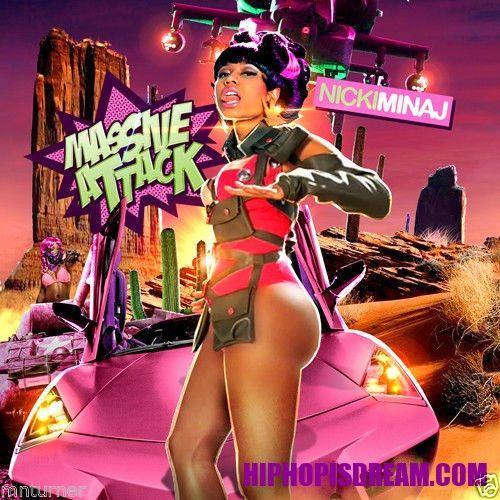 "Nicki Minaj -""MASSIVE ATTACK"" - Mixtape CD"