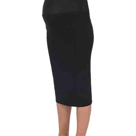 Dieser schmale MAMA-LICIOUS Umstandsrock MLLUNA betont die feminine Form und bietet gleichzeitig einen sehr angenehmen Tragekomfort. Das Modell besteht aus sehr weichem, elastischem Jersey mit hohem Viskoseanteil.<br /> <br /> - mit Gummibund <br /> - bietet Platz für den wachsenden Bauch<br /> - Seitenlänge bei Gr. M (38): ca. 67 cm<br /> <br /> Material: 70 % Viskose, 30 % Polyester<br /> <br /> ---Pfleg...
