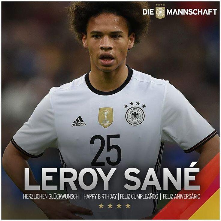"""Die Mannschaft on Instagram: """"Alles Gute zum 20. #Geburtstag! #DieMannschaft #Sané #Schalke @leroysane19 @s04"""""""