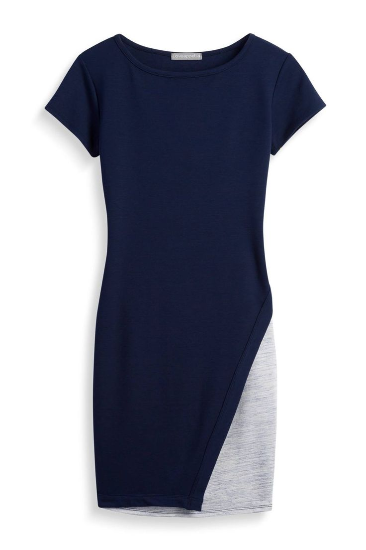 Loveappella Blue & Gray Cap Sleeve Dress - Stitch Fix Style Quiz