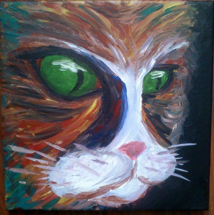 cat by vladena13.deviantart.com on @DeviantArt