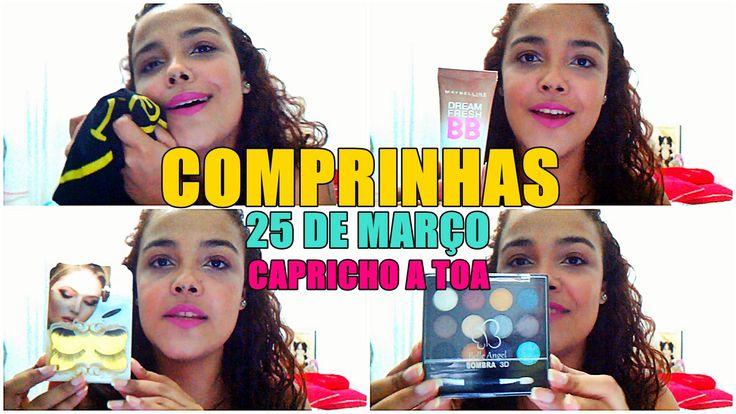 Eu estive em São Paulo recentemente e fiz algumas compras básicas, espero que gostem do vídeo e das comprinhas da 25 de Março + do brechó Capricho à Toa.