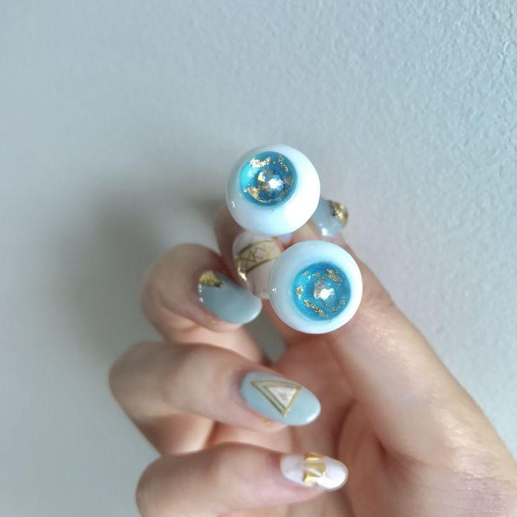 handmade bjd resin eye.