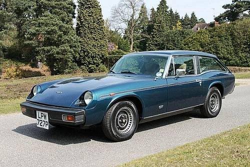 Post War Classics :: Cars of the Day :: 1975 Jensen-Healey GT ~ Runboard