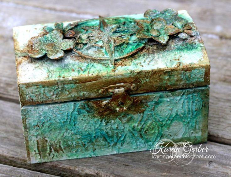 Altered Treasure Box with Karan | Art Anthology