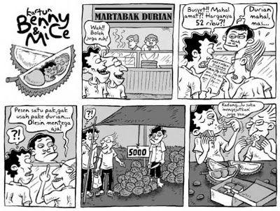6 years ago today.....  Martabak Durian (Kompas, 11 januari 2009)
