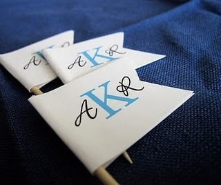 Monogram flags