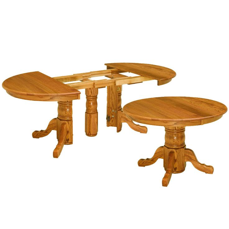 A Unique Table That Starts Small And Expands By Splitting! #traditional  #amish #