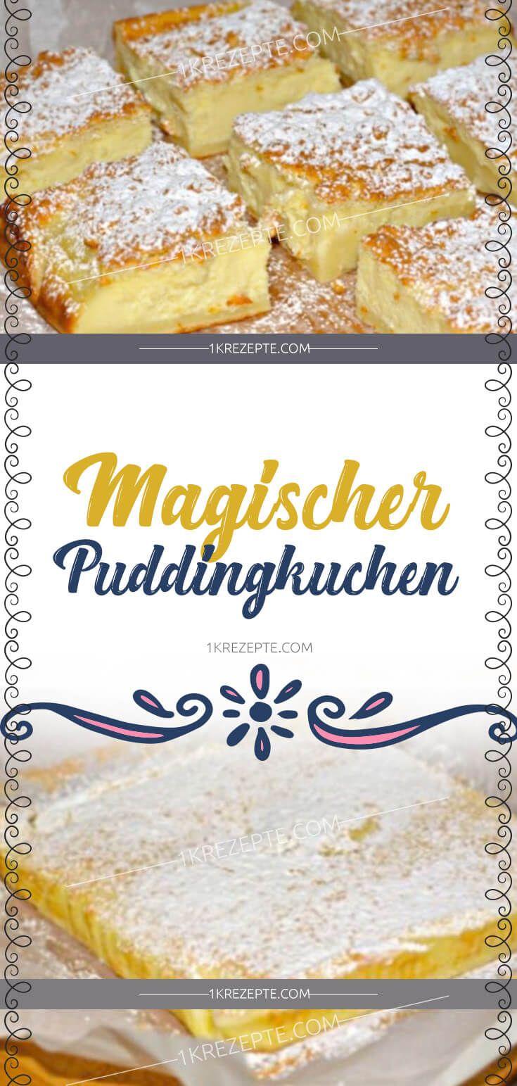 Magischer Puddingkuchen – Vicky