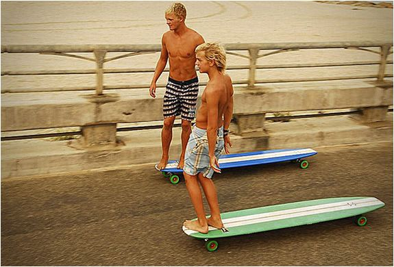 HAMBOARDS – combines Skateboarding & surfing