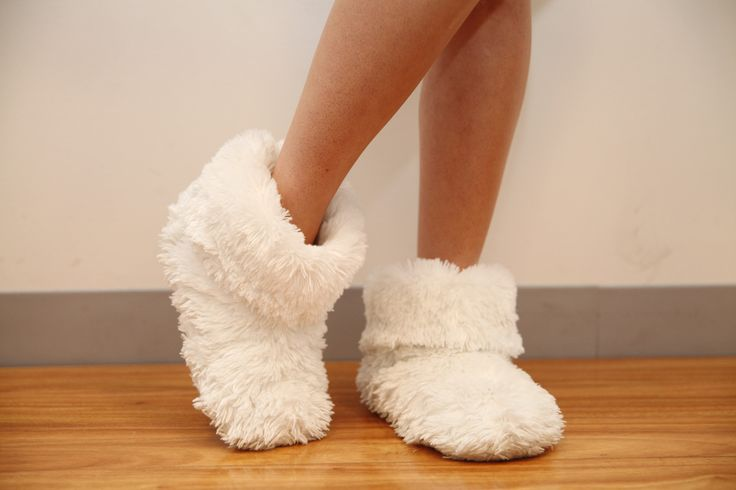 """The real question is, when are fuzzy slippers NOT appropriate?""  - Melissa B…"