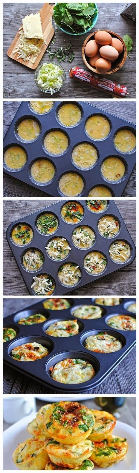 Yummy Recipes: Mini Frittata Brunch Bar recipe