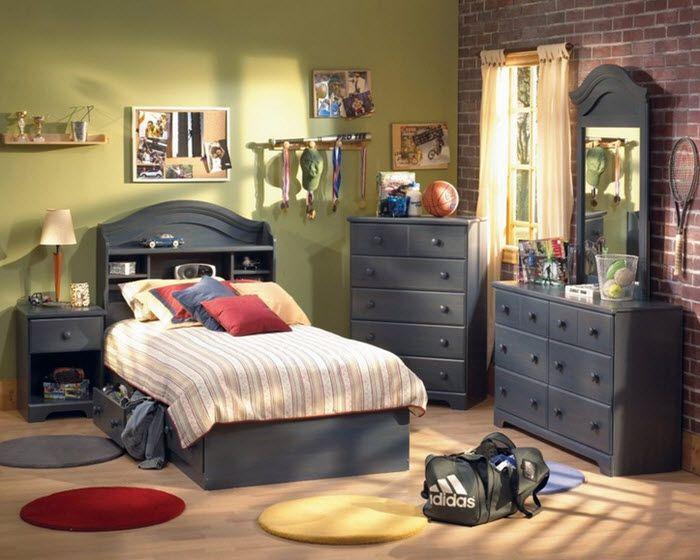 IDEI Mobila dormitor baieti-accesorii de efect