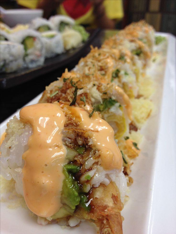 Nothing like shrimp tempura rolls