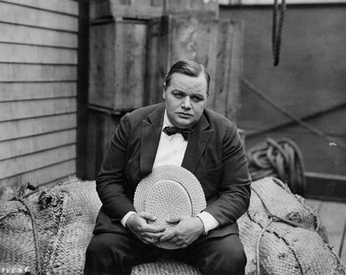 "Roscoe Arbuckle.  I highly recommend reading Jerry Stahl's ""I, Fatty"" for a fictionalized memoir of the man."