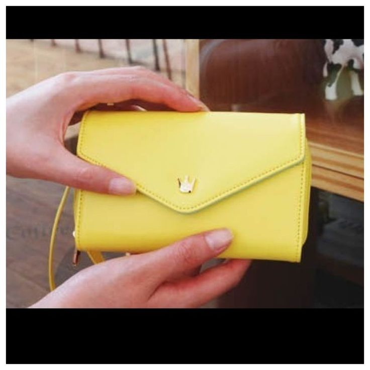 11$ For Multi Fonctions Cutte PU Wallet For Women Yellow